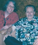 Jerry with Nokie Edwards of The Ventures (2003)