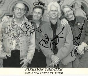 Peter Bergman (d2012), Phil Proctor, Phil Austin (d2015), David Ossman