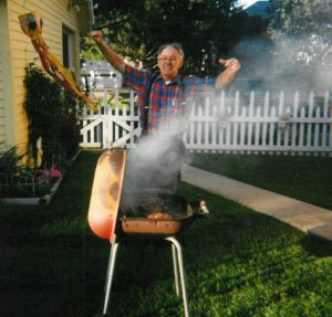 Dad at the Grill